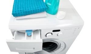 bac à produit lave-linge